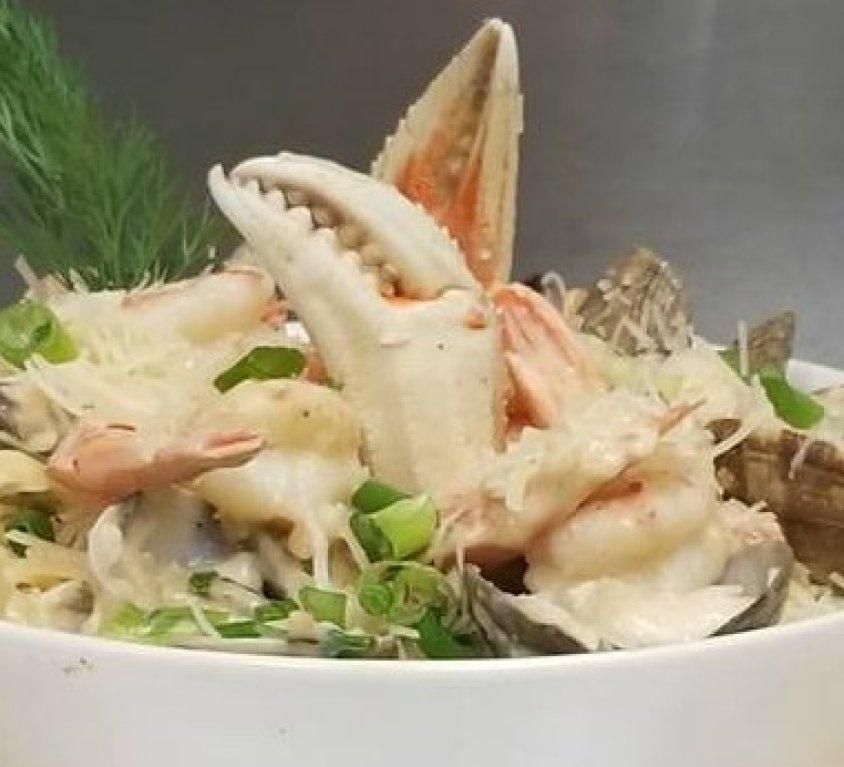 Seafood Fettucinne