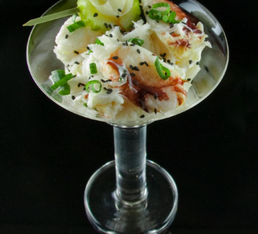 Dungeness Crab Martini